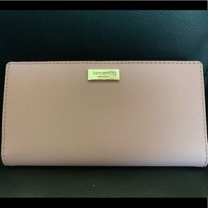 Kate Spade Dusty Pink Wallet NWOT